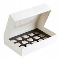 Коробочка для форм S , 360х250х80, белая
