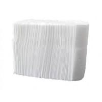 Салфетки для настольных диспенсеров  h 15,5 (20*15,5) 1 сл белый х 50