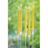 Свечи античные конические, 250х22 мм, время горения 7,5 часов, 20 цветов на выбор