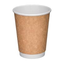 Стакан для горячих напитков двухслойный 450мл